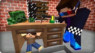 Нашёл выжившего мальчика! [ЧАСТЬ 7] Зомби апокалипсис в майнкрафт! - (Minecraft - Сериал)