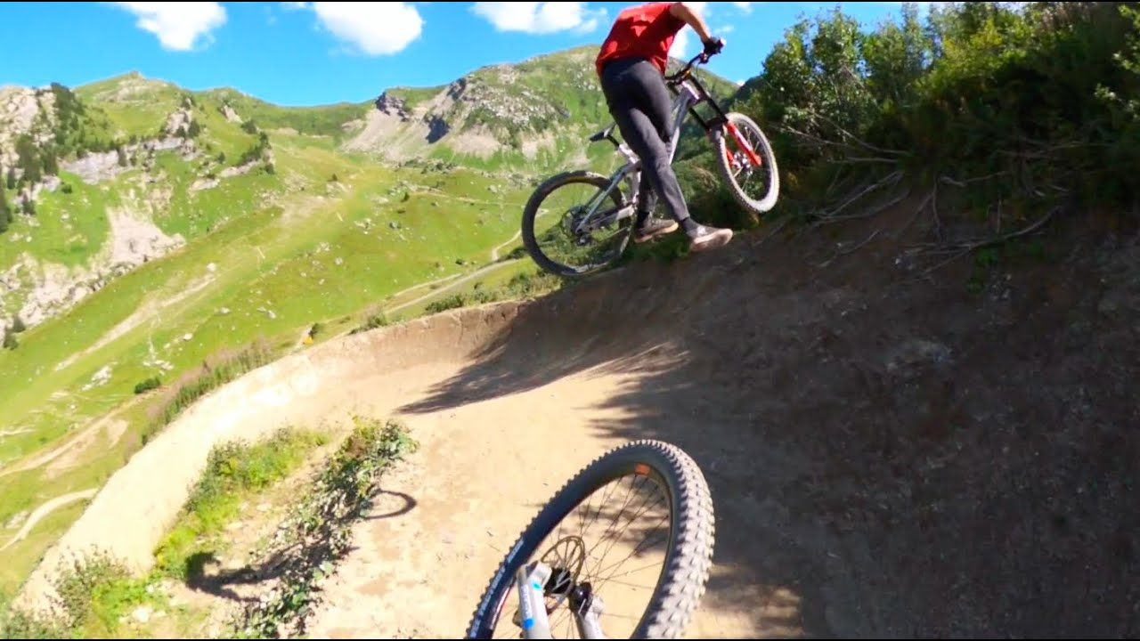 Bikepark Chatel Vink Line Follow cam with Anthony Rocci