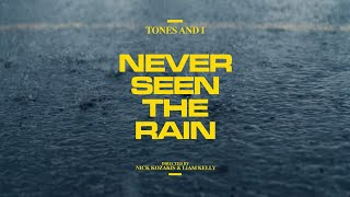 Смотреть клип Tones And I - Never Seen The Rain