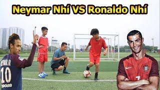 Thử Thách Bóng Đá Neymar nhí so tài Ronaldo Việt Nam với skills khiến Đỗ Kim Phúc bất ngờ