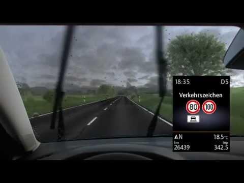 VW Volkswagen Golf 7 - Sign Assist
