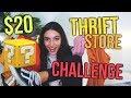$20 THRIFT STORE CHALLENGE!!