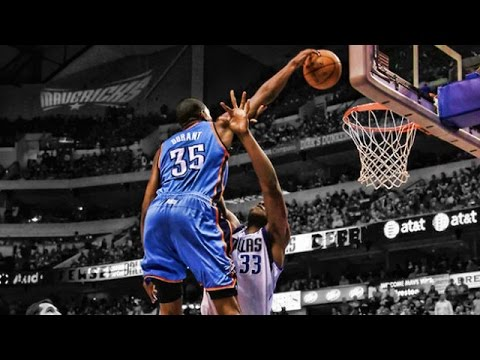 Kevin Durant: Top 10 Dunks as an OKC Thunder