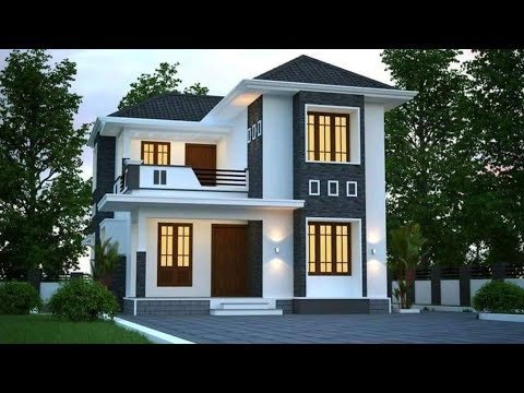 1025 Sq Ft 3 BHK House and Plan