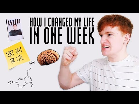 How I Changed My Life In One Week (this video could change your life...)