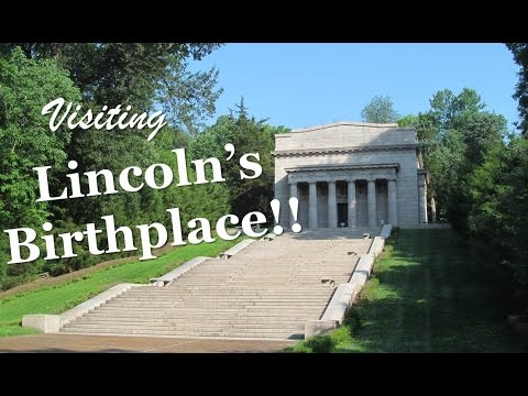 Visiting Abraham Lincoln Birthplace National Historical Park!!