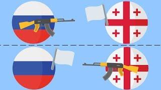 Российско-грузинская война: РОССИЙСКИЙ и ГРУЗИНСКИЙ взгляды