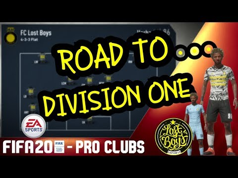 FIFA 20 PRO CLUBS - Road to Division 1 Begins!