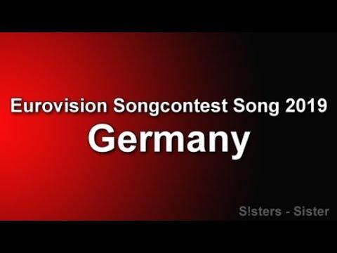 S!sters - Sister [Lyrics Video] Germany ESC Song 2019