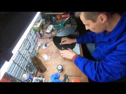 Naprawa samościemniającej przyłbicy spawalniczej / How to repair an auto darkening welding helmet.