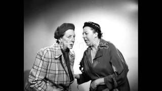 Elsie & Doris Waters - Knees Up Mother Brown / Please Leave My Butter Alone (1940)