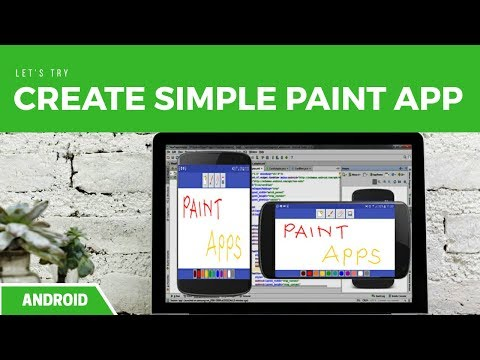 ANDROID - How To Make Simple Paint App
