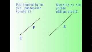 Geometrian käsitteitä