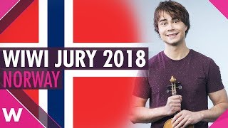 """Eurovision Review 2018: Norway - Alexander Rybak - """"That's How Your Write a Song"""""""