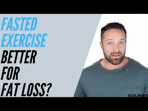 Fasted Exercise Better For Fat Loss?