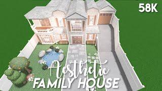 Aesthetic family house - Bloxburg speedbuild