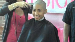 Repeat youtube video 200 Lehman High School Kids Shave Their Heads