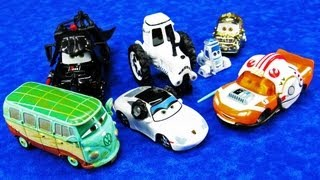 Disney Cars STAR WARS Weekends 2013 Die-Cast Cars Theme Park Toys