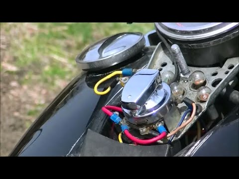 Harley Turn Signal Wiring Diagram 2000 Mitsubishi Galant Engine Softail Ignition Switch Removal And Installation - Youtube