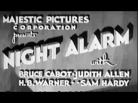 Crime Drama Movie - Night Alarm (1934)