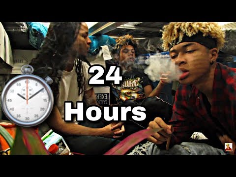 SMOKING BLACKS IN WALMART | ULTIMATE 24 HOUR PILLOW FORT!!!