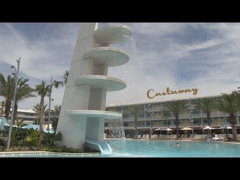 Universal's Cabana Bay Beach Resort walkthrough and family suite tour