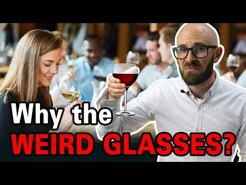 Why Is Wine Almost Always Drunk In Wine Glasses Instead Of Regular Glasses?