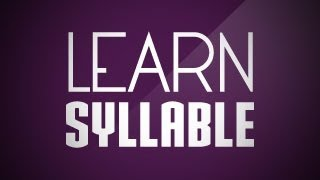 What is syllable? | Class 3 English