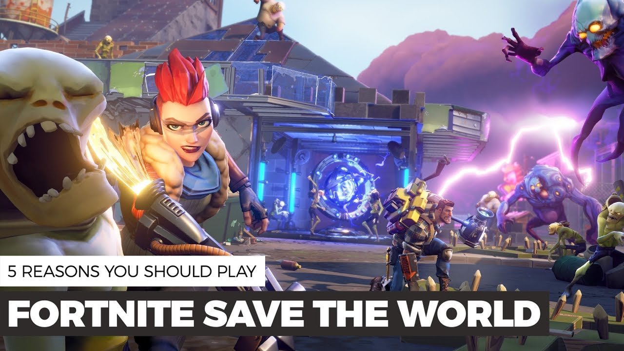 how to download fortnite save the world on pc free