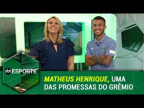 SBT Esporte - 131118 - programa completo - Matheus Henrique do Grêmio é nosso convidado de hoje