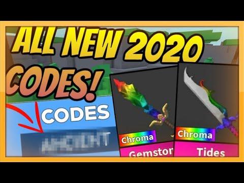 *FEBRUARY* NEW MURDER MYSTERY CODES! 2020 [Roblox]