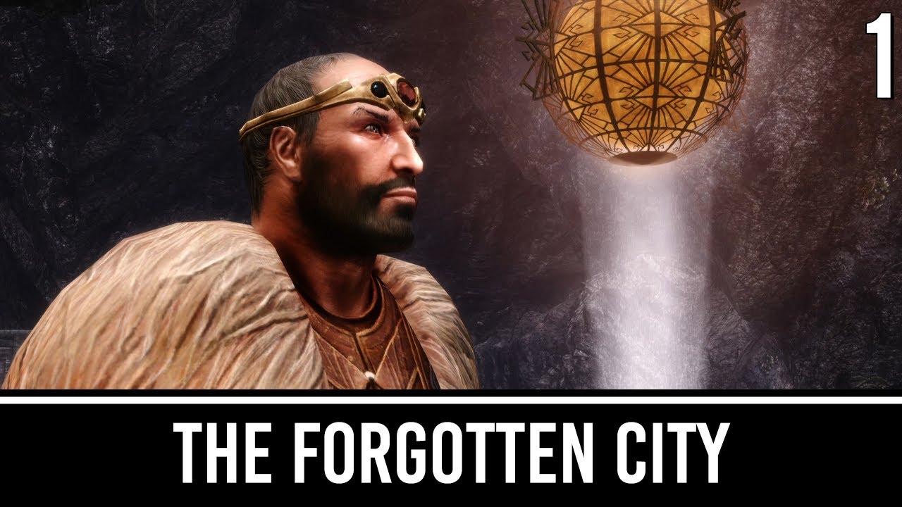 skyrim mod forgotten city