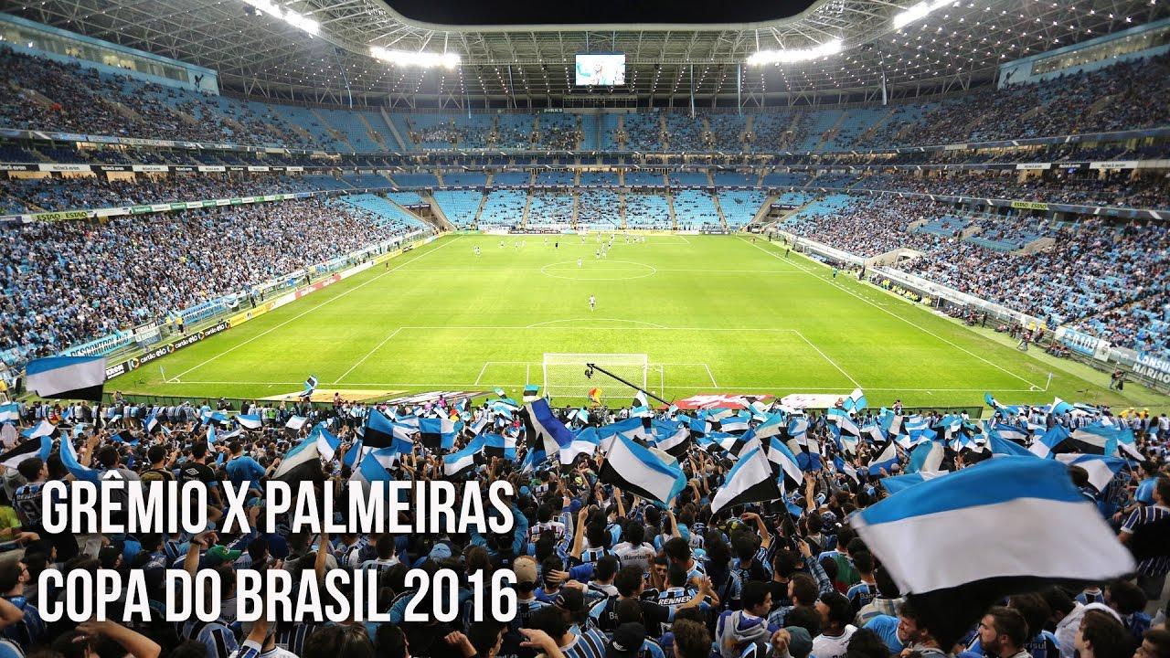 Grêmio 2 x 1 Palmeiras - Copa do Brasil 2016 - Tricolor de ...