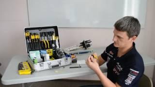 Набор инструментов для монтажа волоконно-оптического кабеля