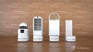 Techmetics Hotel service Robot - Techi the Robot