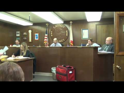 Part 4 Lassen County Board of Supervisors Meeting, February 28, 2017
