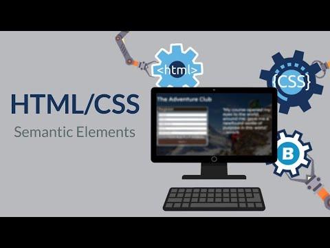 HtmlCss 04 SemanticElements