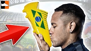 How to Make Flag Boots 🏴󠁧󠁢󠁥󠁮󠁧󠁿 World Cup 2018 🏆 Neymar 🇧🇷 Customs