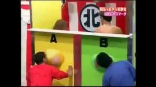 JAPANESE game show kiss her ASS