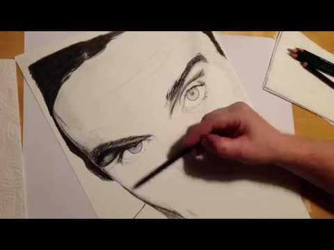 Robbie Williams Speeddrawing Time Lapse Zeitraffer Pencil Drawing Bleistift Zeichnen Art by Sauer