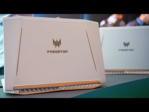 Acer Predator Helios 300 & 500 Hands-On!