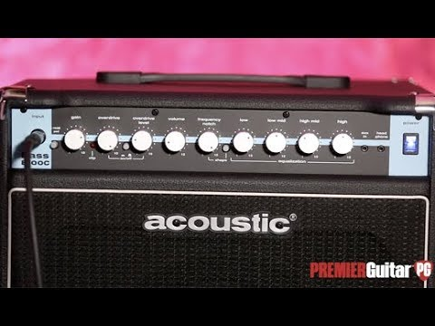 Review Demo - Acoustic B100C