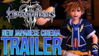 Kingdom Hearts 3 New Japanese Cinema Trailer - Sora Crying, 2.9 Cutscene and More!