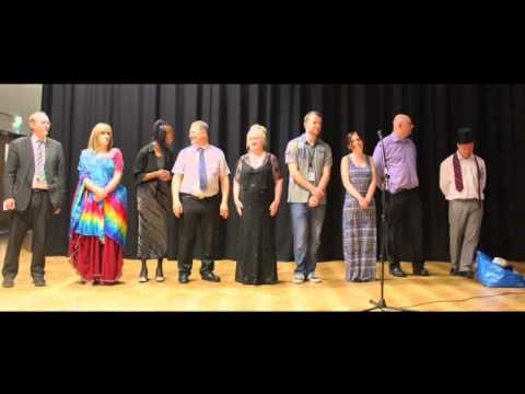 The St Lawrence Academy Staff Talent Show 2014
