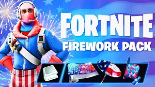 The New FIREWORK PACK in Fortnite.. (FREE ITEMS)