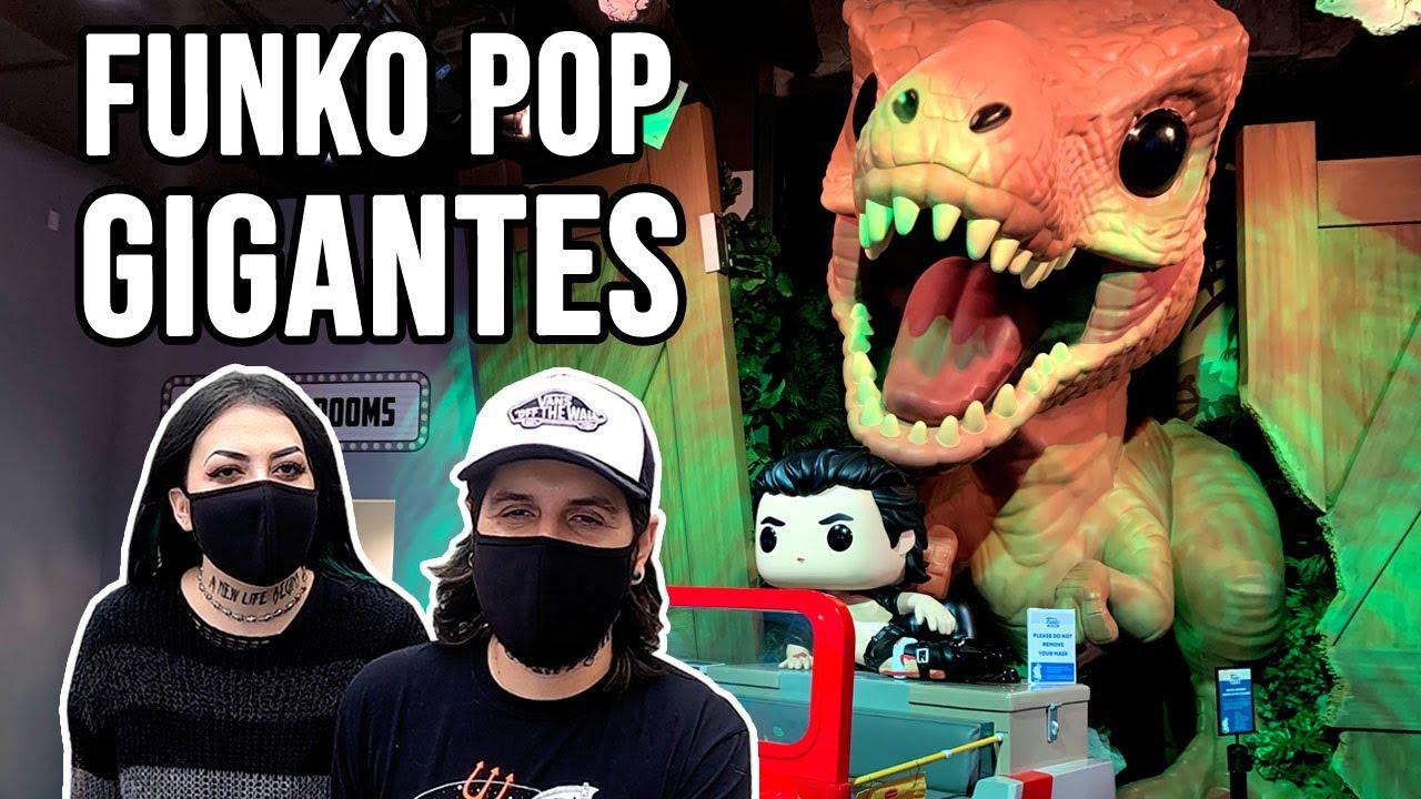 A GIGANTE LOJA DE FUNKO POP GIGANTES!