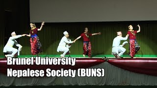 Brunel University Nepalese Society 6th Inter-Uni Nepalese Dance Competition, UK 2018)