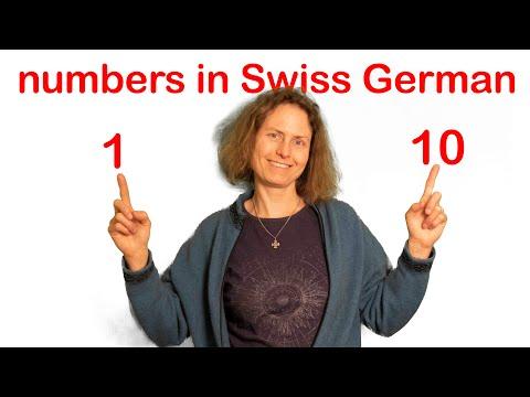 Swiss German Numbers