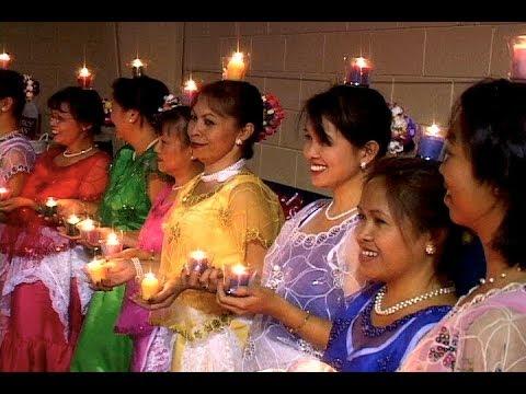 PANDANGGO SA ILAW Philippine candle dance, Santo Niño Fiesta, Columbia South Carolina