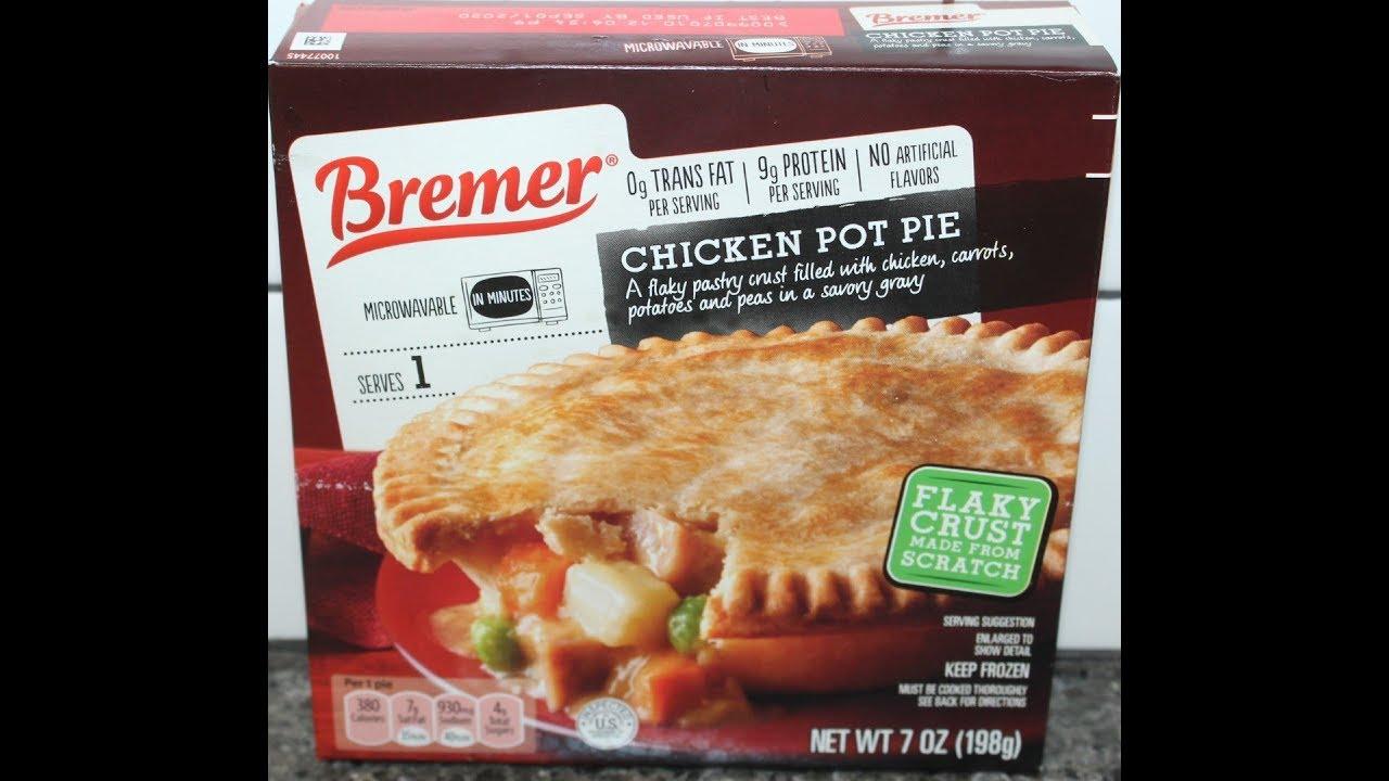 Bremer Aldi Brand Chicken Pot Pie Review Youtube